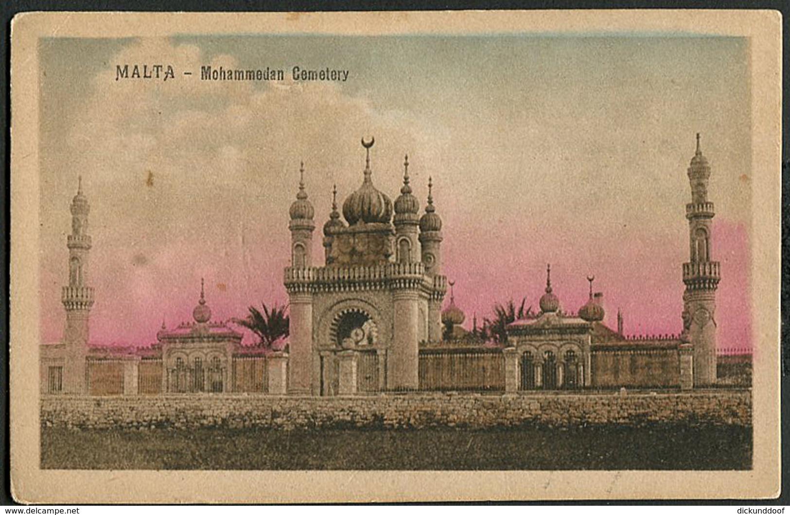 Malta - Mohammedan Cemetery - Malte