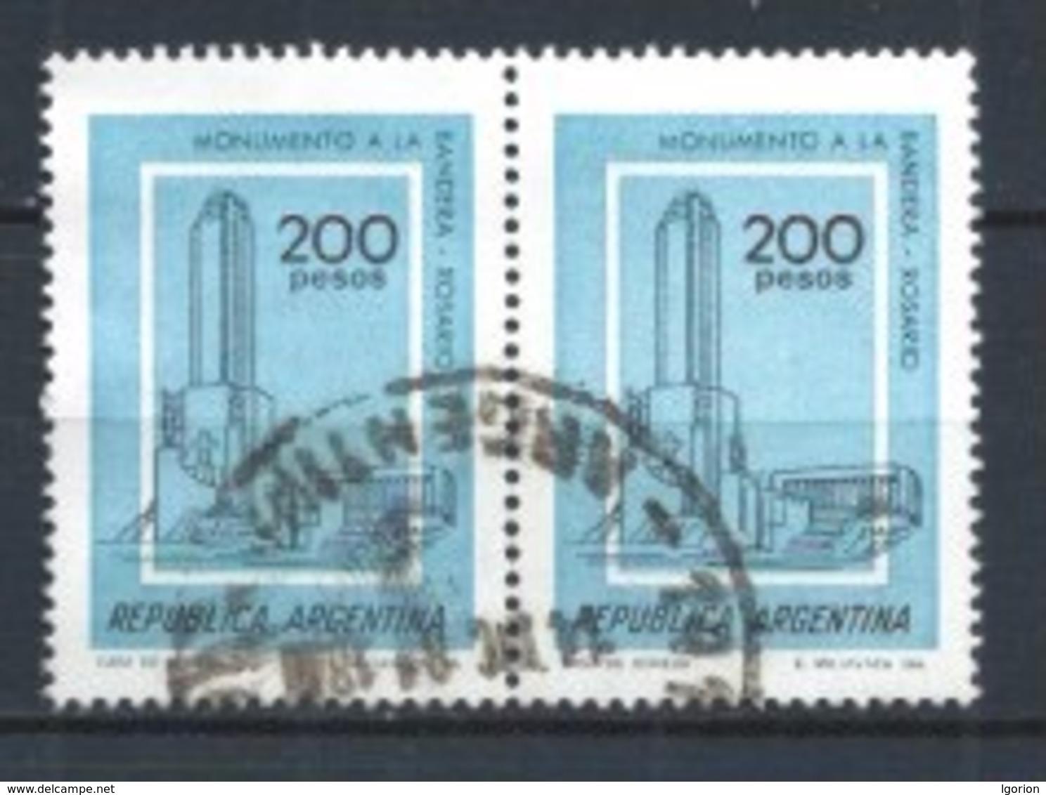 ARGENTINA 1979 (O) USADOS MI-1418 YT-1203 BL2 VARIOS - Argentina