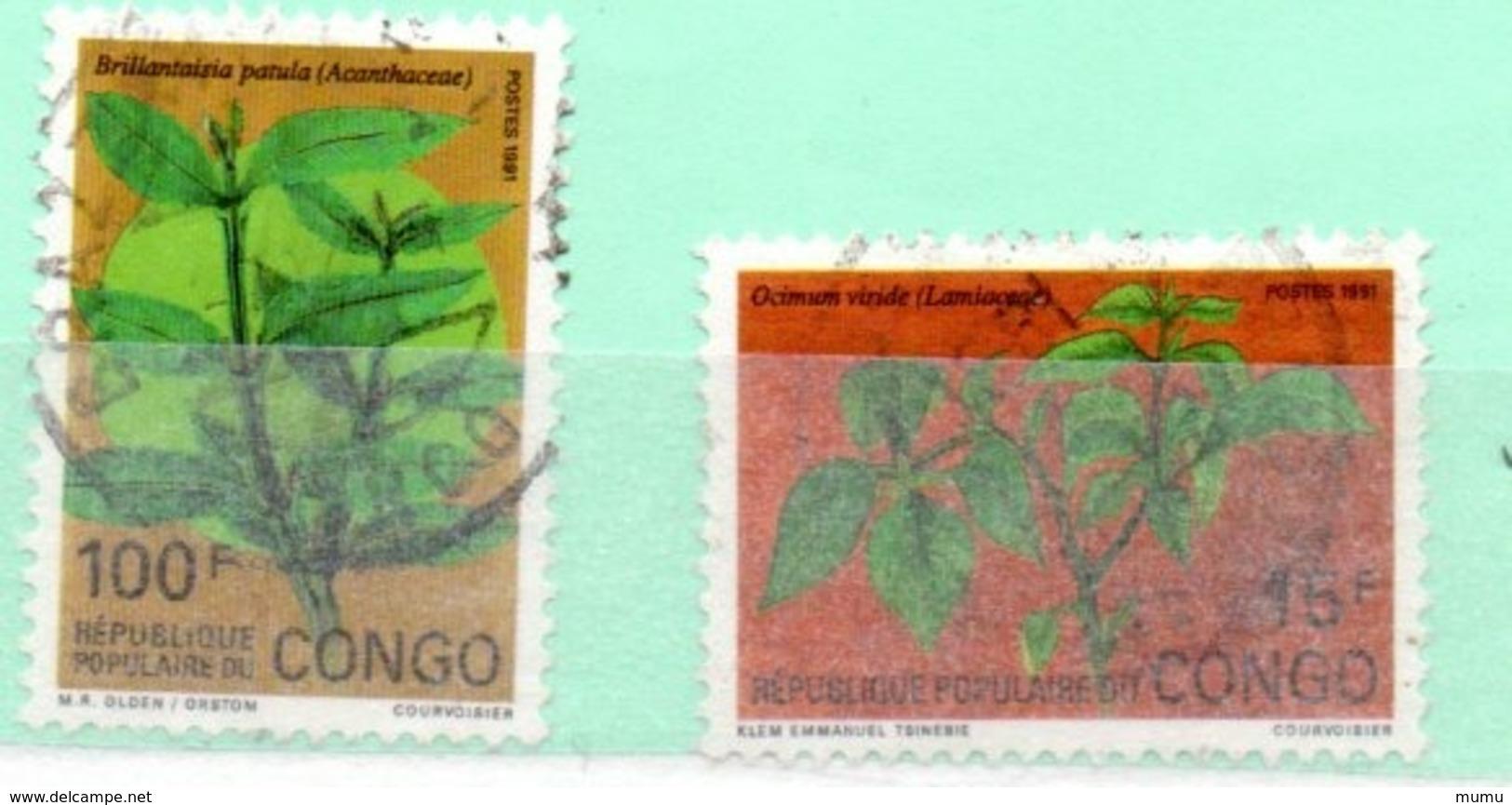 CONGO OB N0 901 + 896 - Congo - Brazzaville