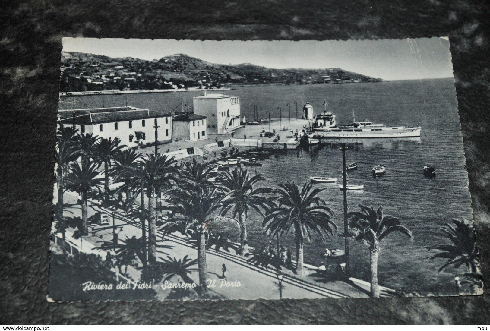 6974    SAN REMO, RIVIERA DEI FIORI, IL PORTO - Imperia