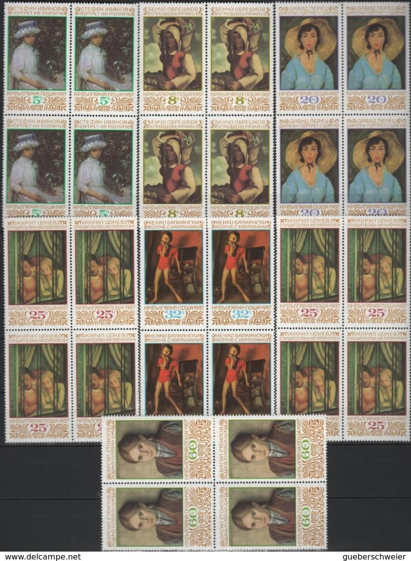 Belle Collection De BULGARIE Majorité Neufs** Avec Séries Complètes Et Non-dentelés Forte Cote Dans Album - Bulgarie