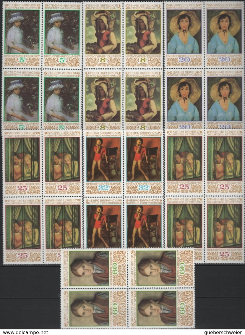 Belle Collection De BULGARIE Majorité Neufs** Avec Séries Complètes Et Non-dentelés Forte Cote Dans Album - Collections, Lots & Séries