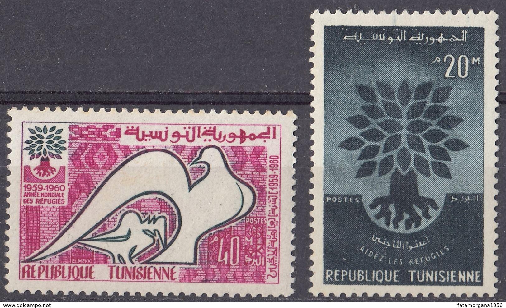 TOGO - 1960 - Serie Completa Formata Da 2 Valori Nuovi MNH: Yvert 502/503. - Tunisia (1956-...)