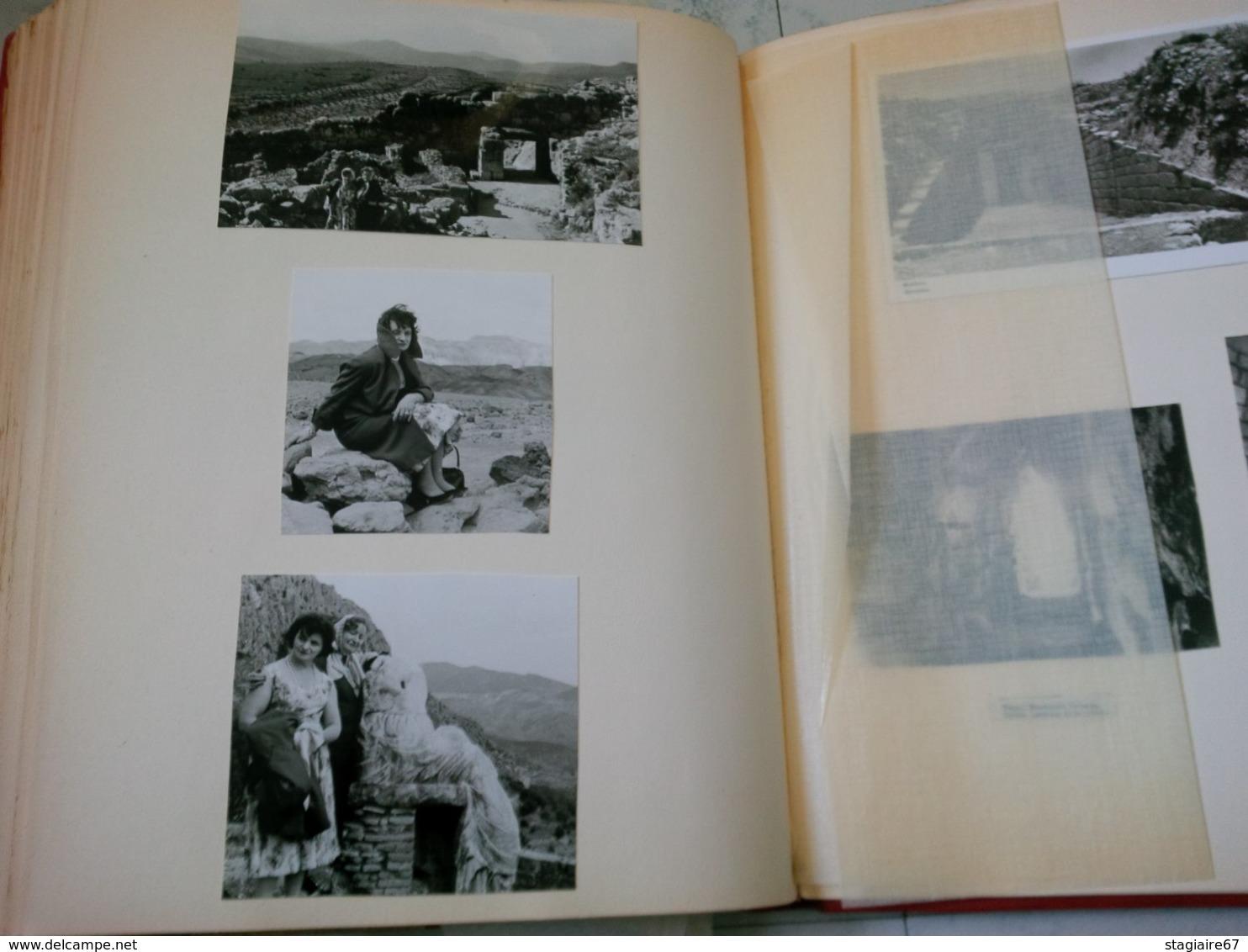 LOT 8 ALBUM REINE ELISABETH MINISTRE JANSSEN ET PERSONNALITE BELGE BELGIQUE ISRAEL GRECE CONGO BIBLIOMANIA - Albums & Collections