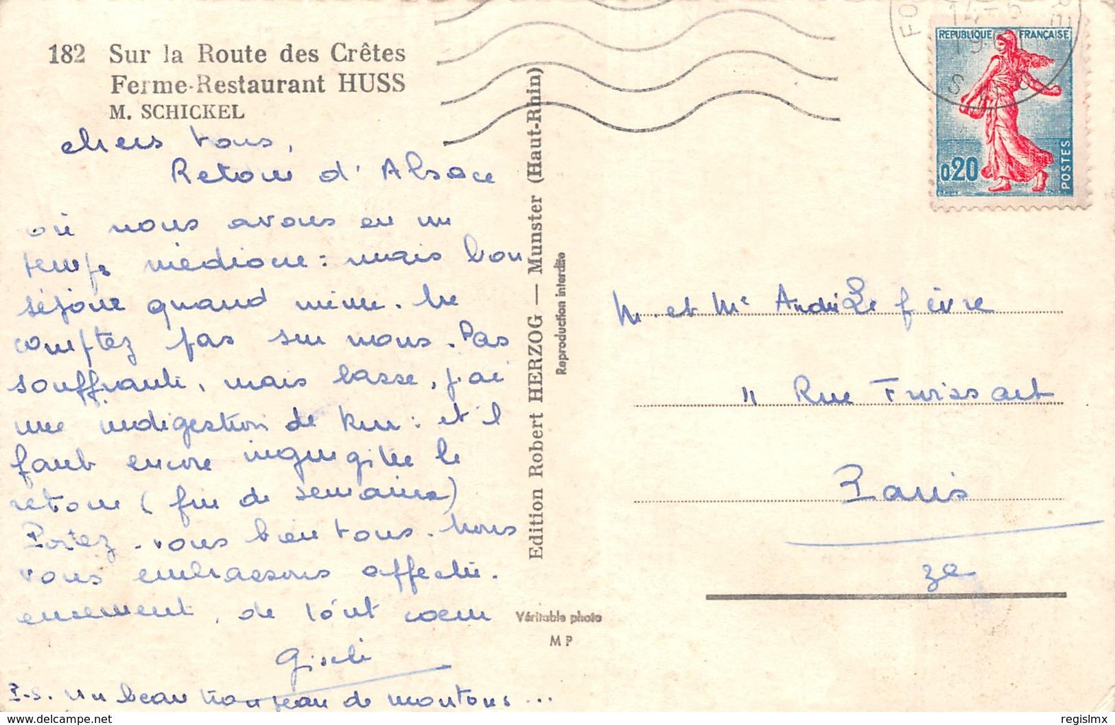 68-ROUTE DES CRETES-N°T2521-G/0227 - Sonstige Gemeinden
