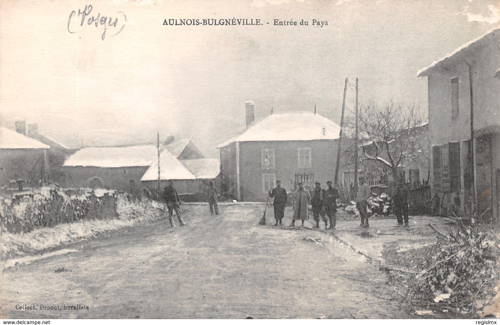 88-AULNOIS BULGNEVILLE-N°T2522-G/0123 - Autres Communes