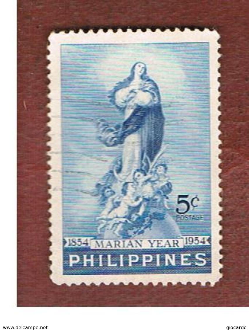FILIPPINE (PHILIPPINES) - SG 773 -  1954 MARIAN YEAR - USED ° - Filippine