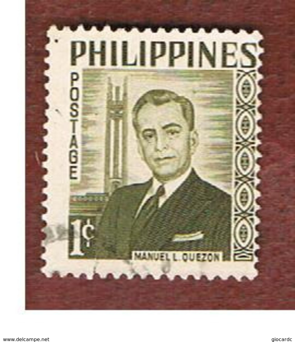 FILIPPINE (PHILIPPINES) - SG 860 -  1960 PRESIDENT QUEZON   - USED ° - Filippine