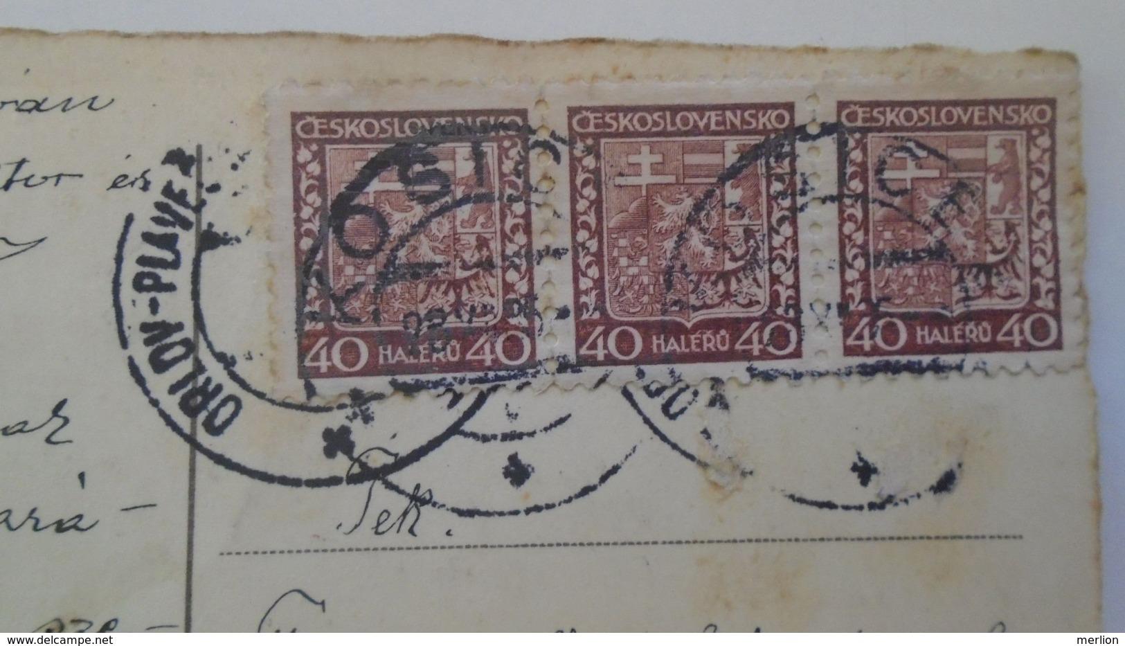 D168186 Czechoslovakia  Postcard   -Children- TPO -Railway Post - Orlov-Plaveč Nad Popradom-Kosice Ca 1930 - Tschechoslowakei/CSSR