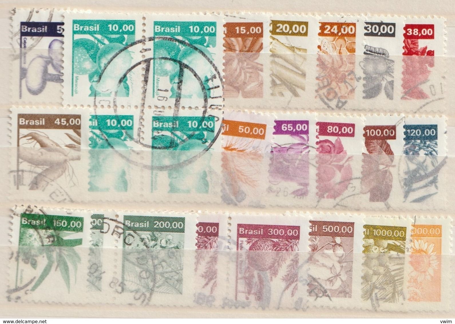 BRAZILIË / BRASIL - 1982 - ECONOMICS RESOURCES - Gebraucht/gestempeld/Oblit./Used - ° - Brazilië