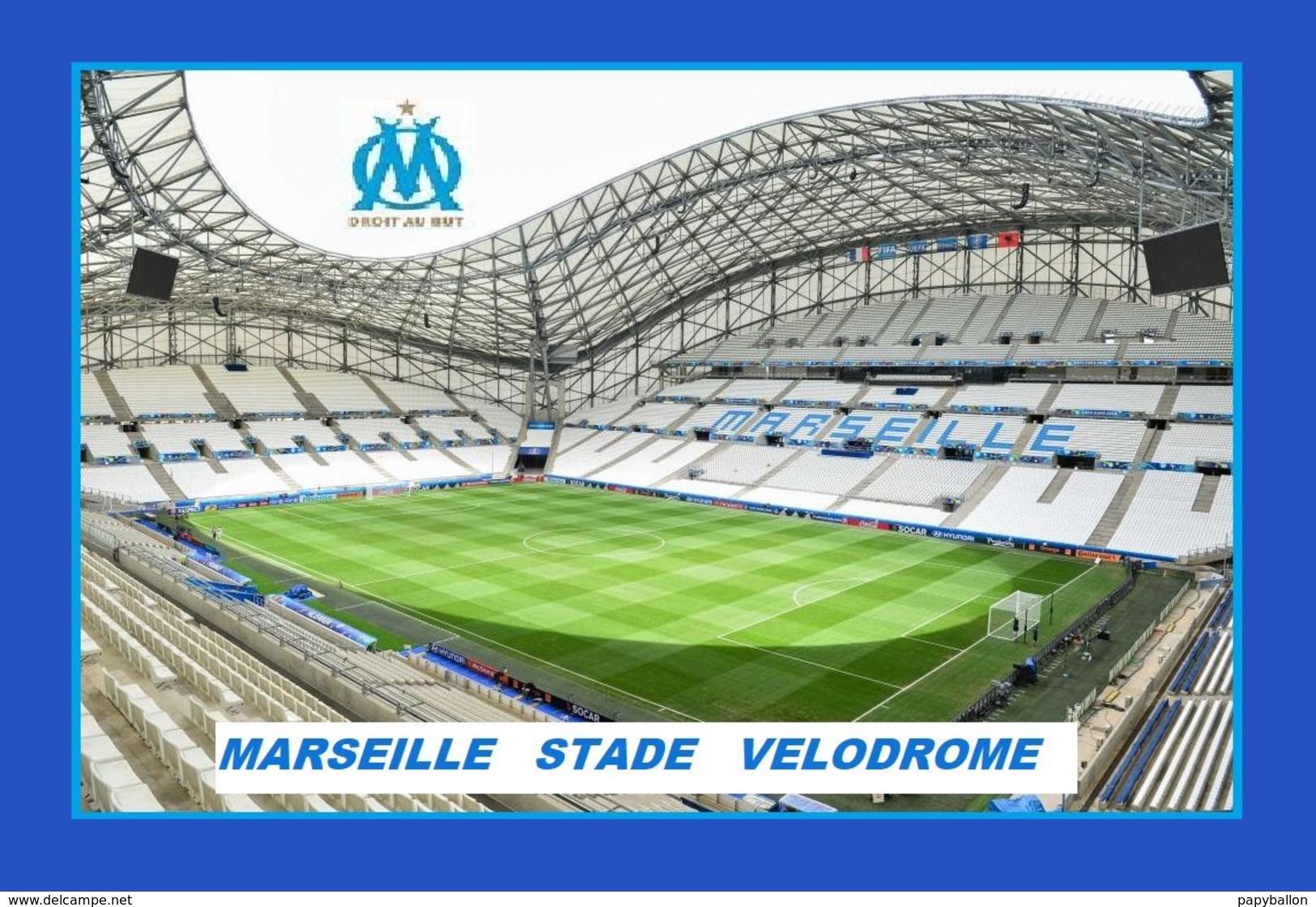 CP. STADE . MARSEILLE *13* FRANCE STADE ORANGE VELODROME # S.030 - Football