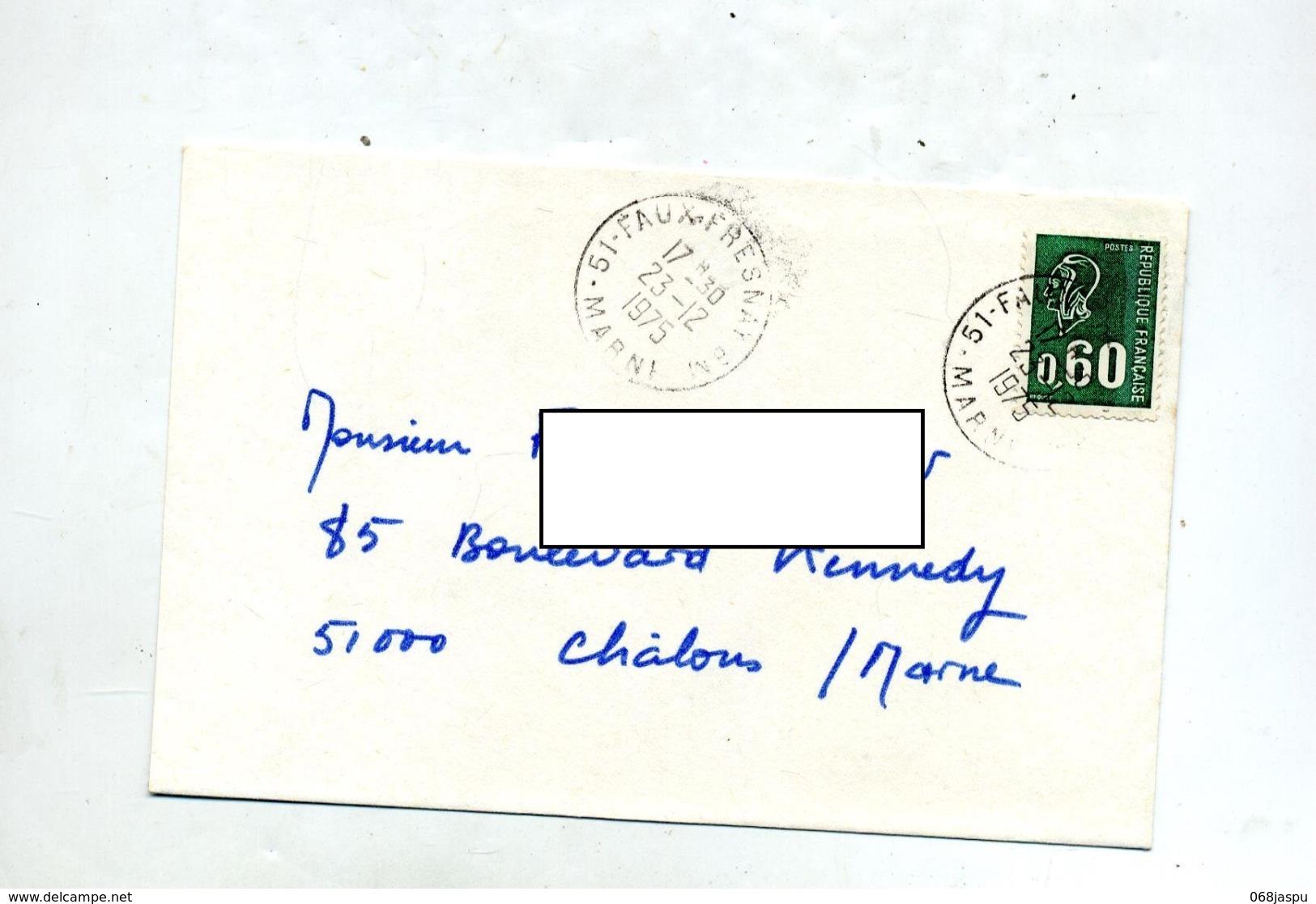 Lettre  Cachet Faux Fresnay Bureau Mobil BM Sur Bequet - Marcophilie (Lettres)