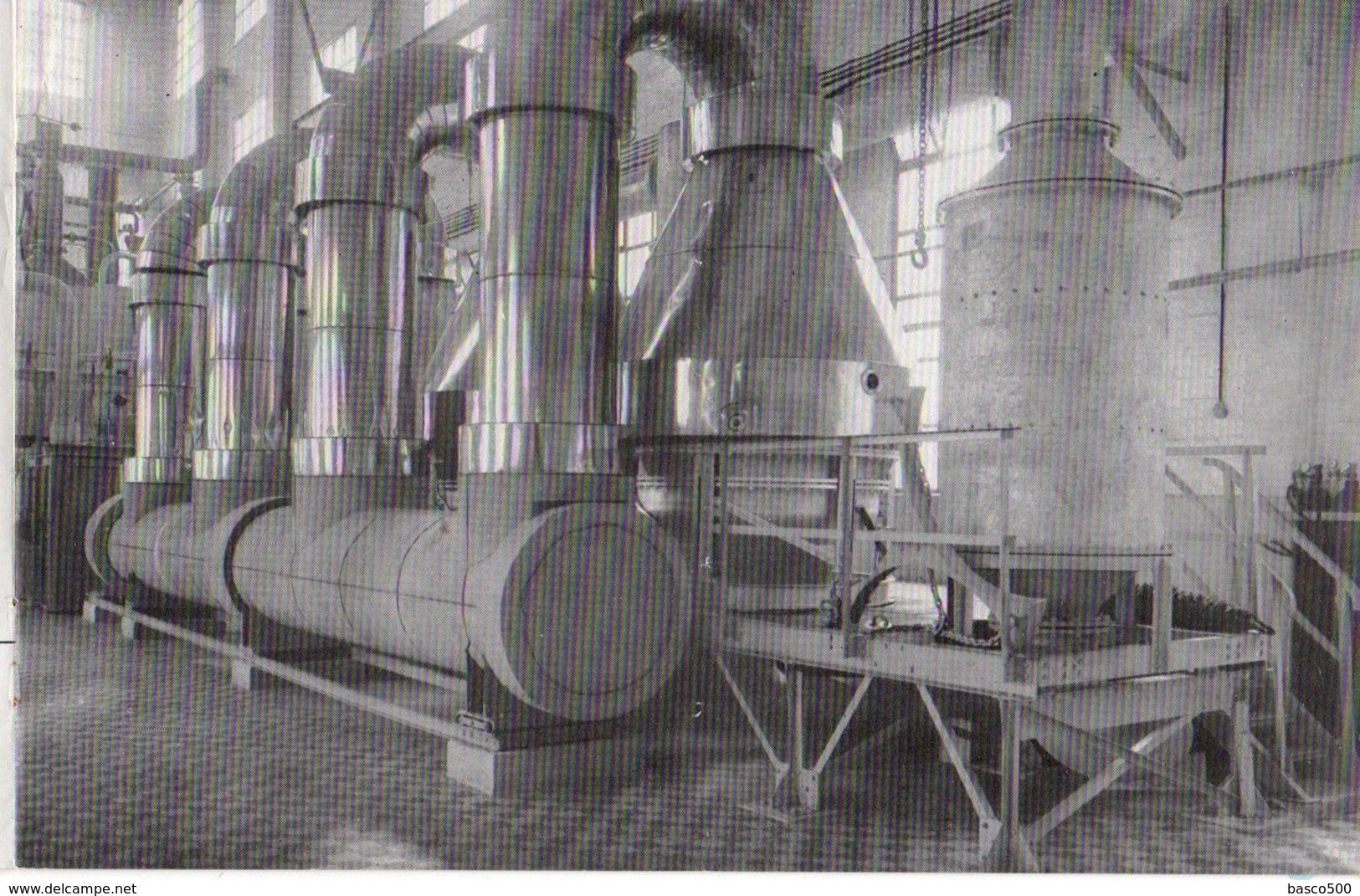 1953 GRAND COURONNE - USINE PEC (Potasse Engrais Chimiques) Livret De 9 Photos Inédites - Altri Comuni