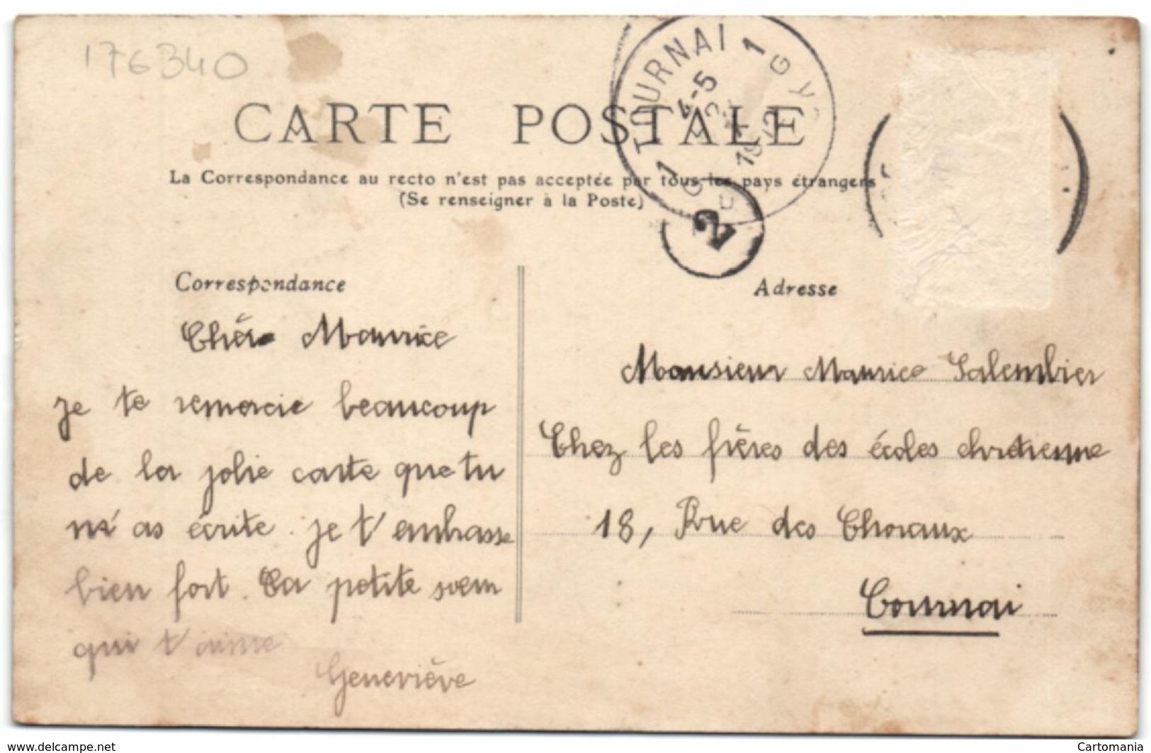 Omeries-Kain - Pensionnat De La Ste-Union De S. S. C. C. - Prmier Cours - Doornik