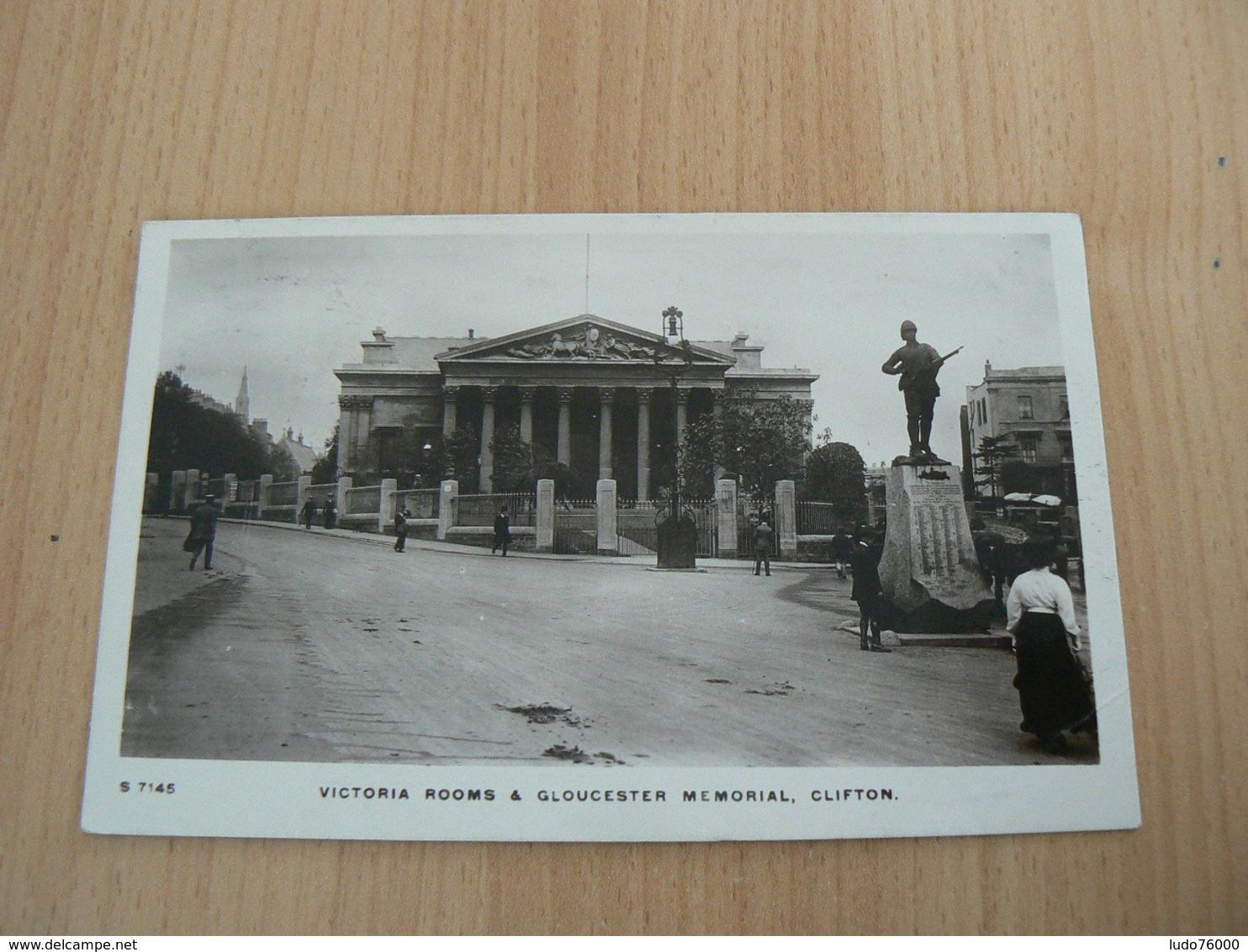 CP 80 / ROYAUME UNI / VICTORIA ROOMS GLOUCESTER MEMORIAL CLIFTON / CARTE VOYAGEE - Royaume-Uni