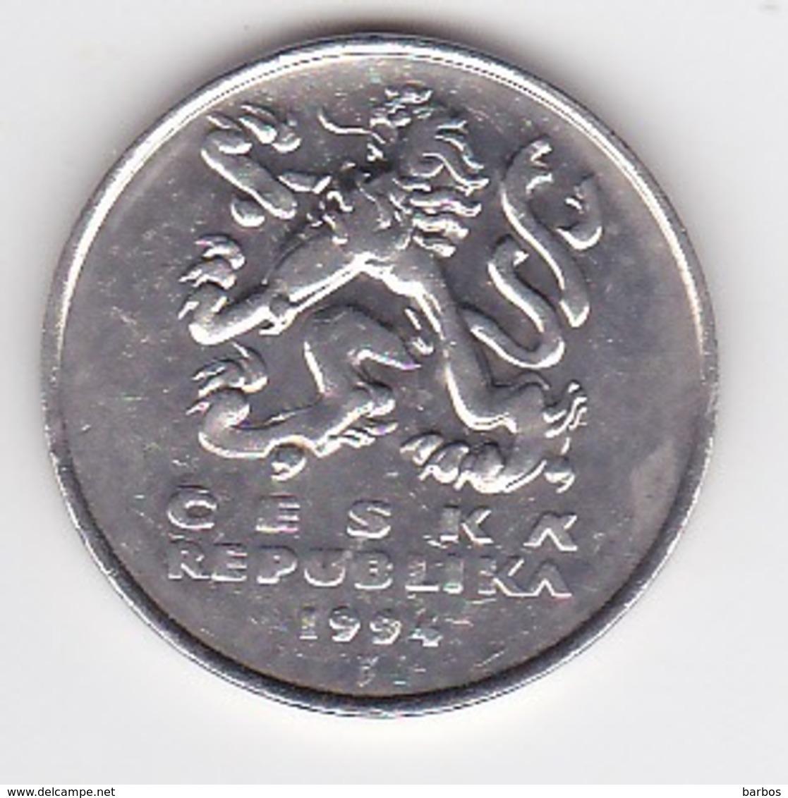 Tchequie ,  5 Kc- 1994 , Coin - Repubblica Ceca