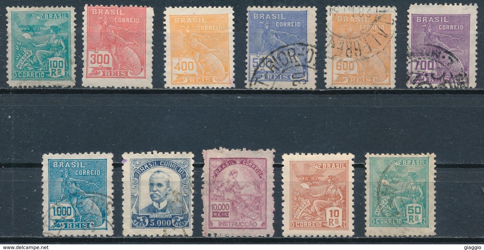 °°° LOT BRASIL - 1928 °°° - Used Stamps