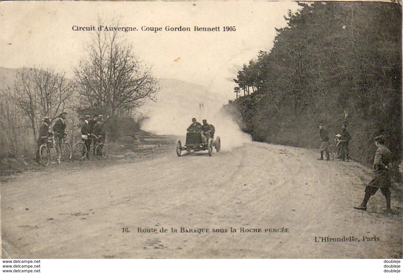 Circuit D'Auvergne Coupe Gordon Bennett 1905 Route De La Baraque Sous La Roche Percée - Sport Automobile