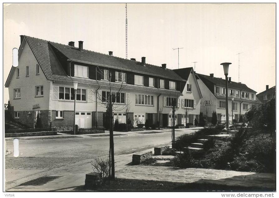 Ganshoren : Quartier Résidentiel ' Parc Albert I  : Format 14.5 X 10.5 Cm ( 1963 CPA Carnet  -  Carnet Kaart  See Scan ) - Ganshoren