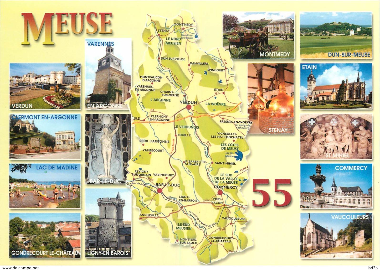 55 - DEPARTEMENT DE LA MEUSE - MICHELIN - France
