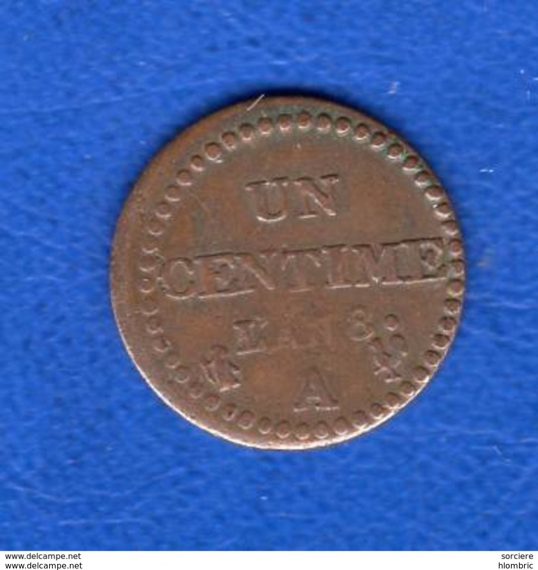 Cent  La  Rare  L'an  8 A - France