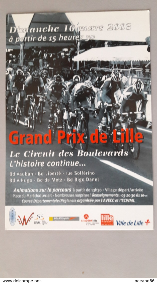Grand Prix De Lille 2003 - Cyclisme