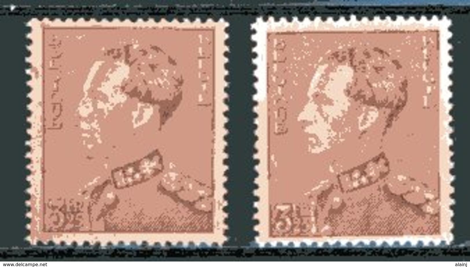 BE   531 - 531a   XX   ---   Les 2 Nuances - 1936-51 Poortman