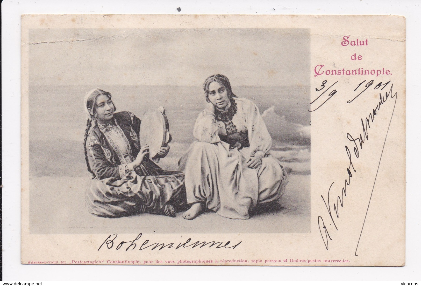 CP TURQUIE Bohemiennes - Turquie