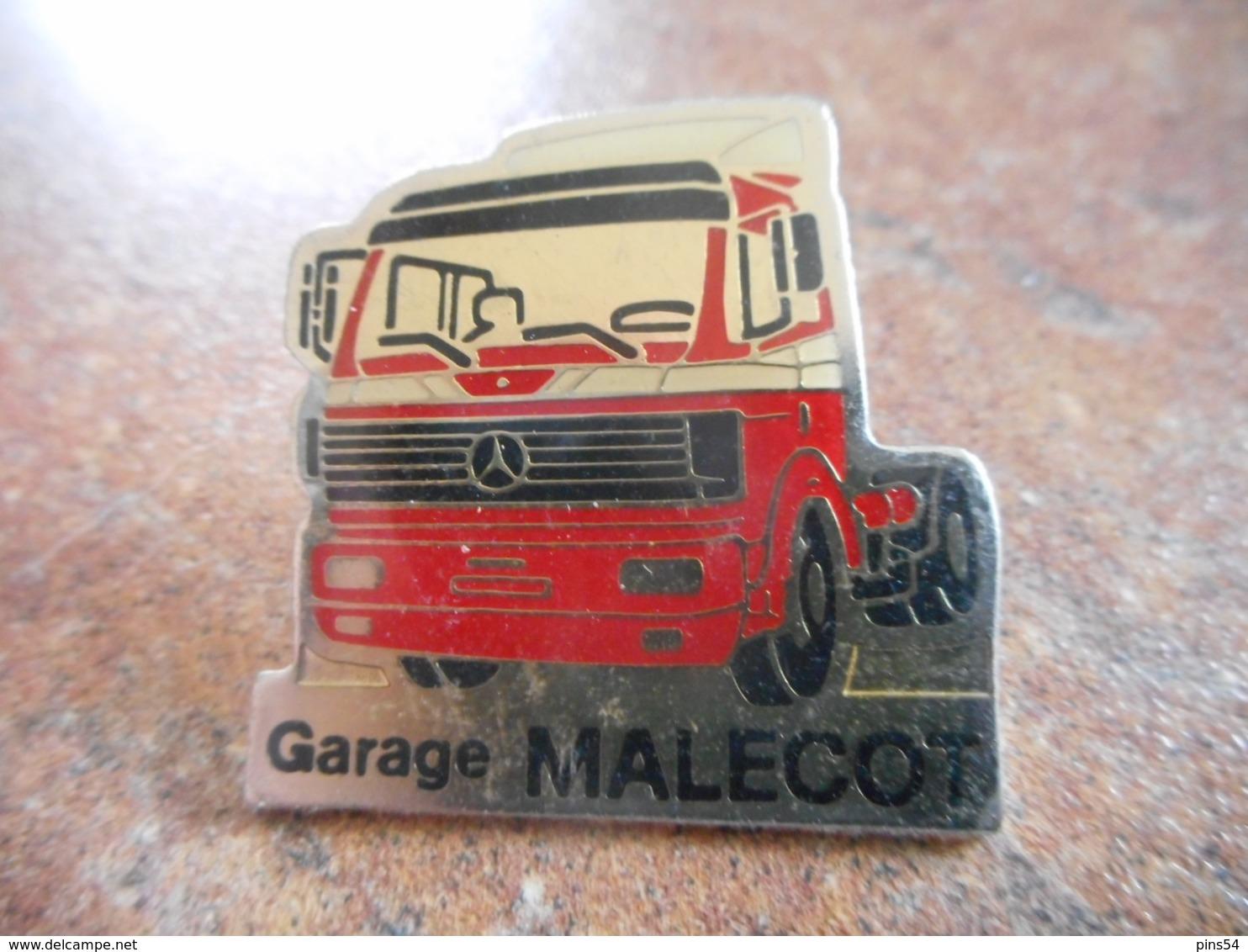 A044 -- Pin's Mercedes Garage Malecot - Mercedes