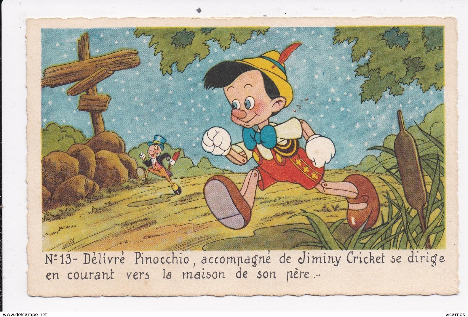 CP DISNEY PINOCCHIO Num 13 - Sonstige