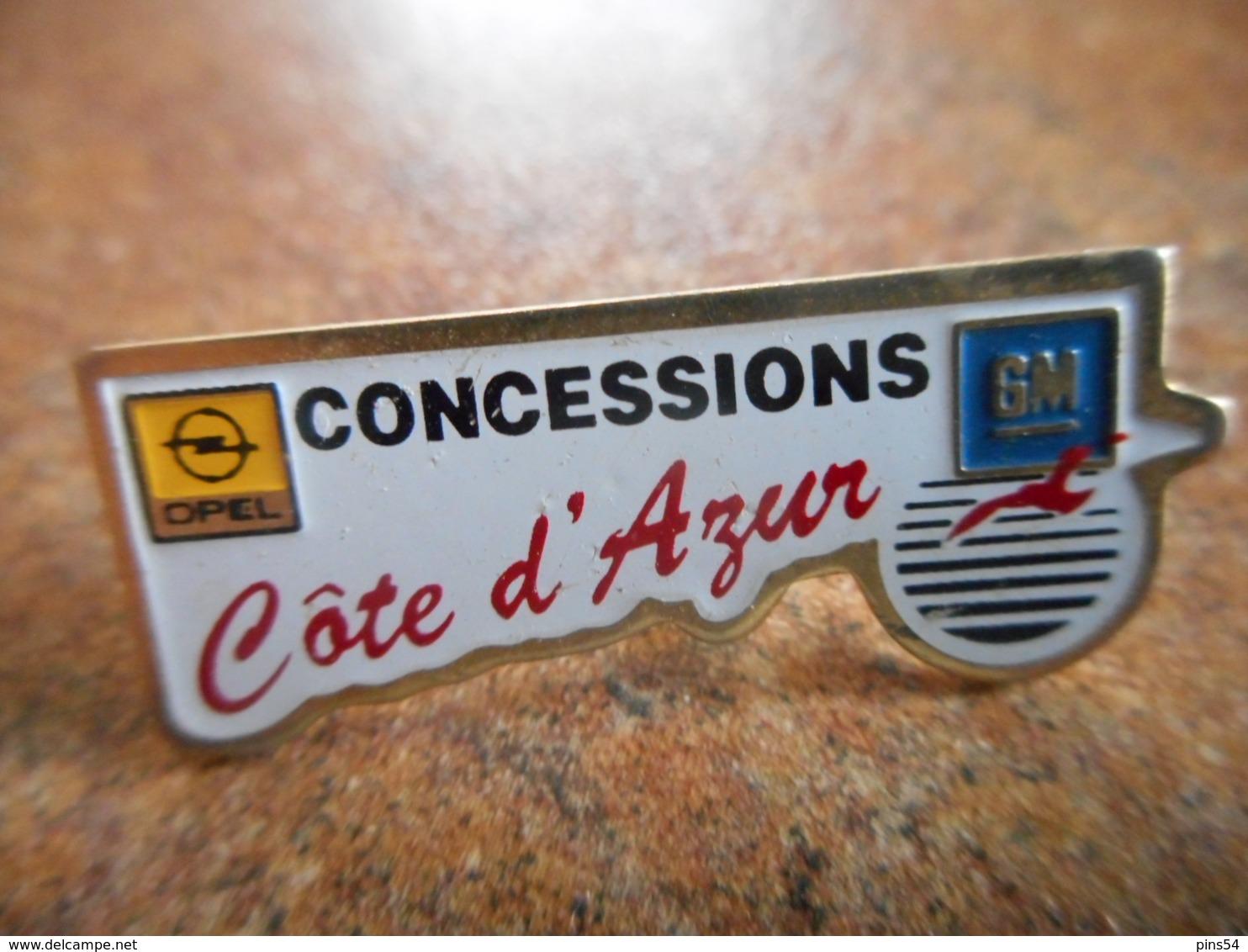 A044 -- Pin's Opel Concessions Cote D'Azur - Opel