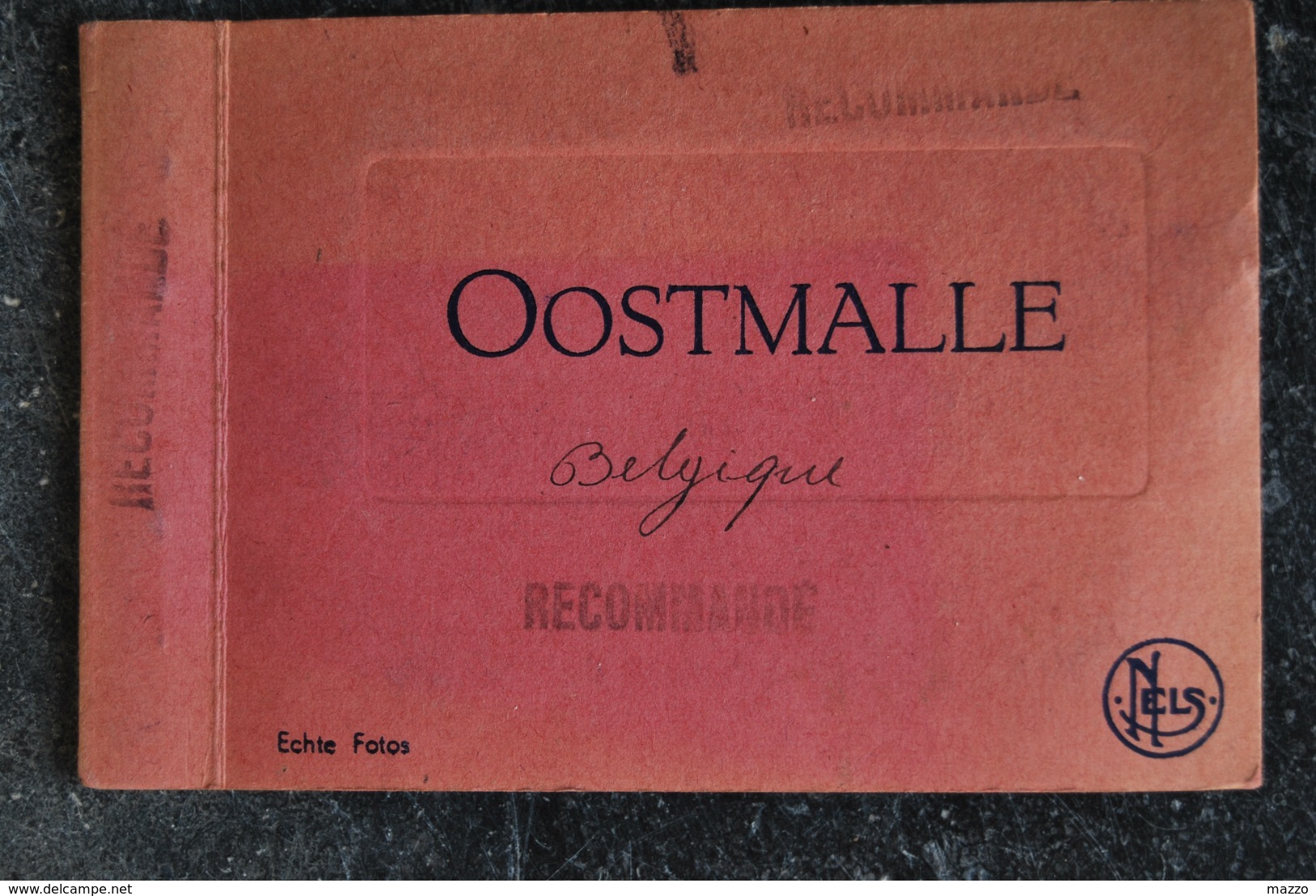 1812/ OOSTMALLE- Carnet De 10 Photos (9 X 6,5cm)Nels - Malle
