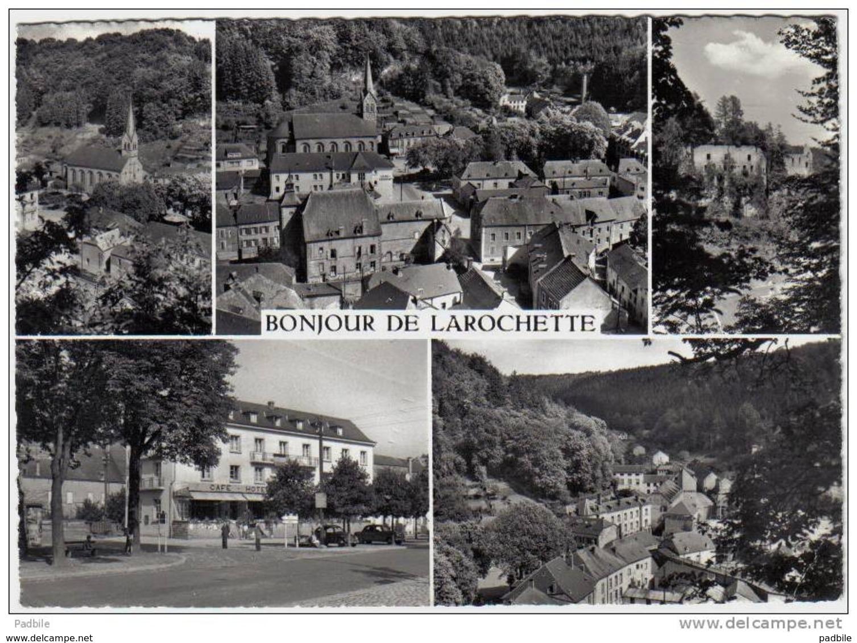 Carte Postale  Luxembourg  Larochette   Vue D'avion  Trés Beau Plan - Larochette