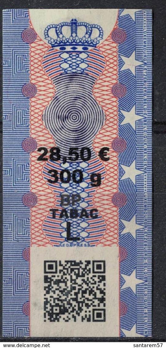 Luxembourg Timbre Taxe Tabac Pot De 300 Grammes Couronne Et Lion - Non Classés