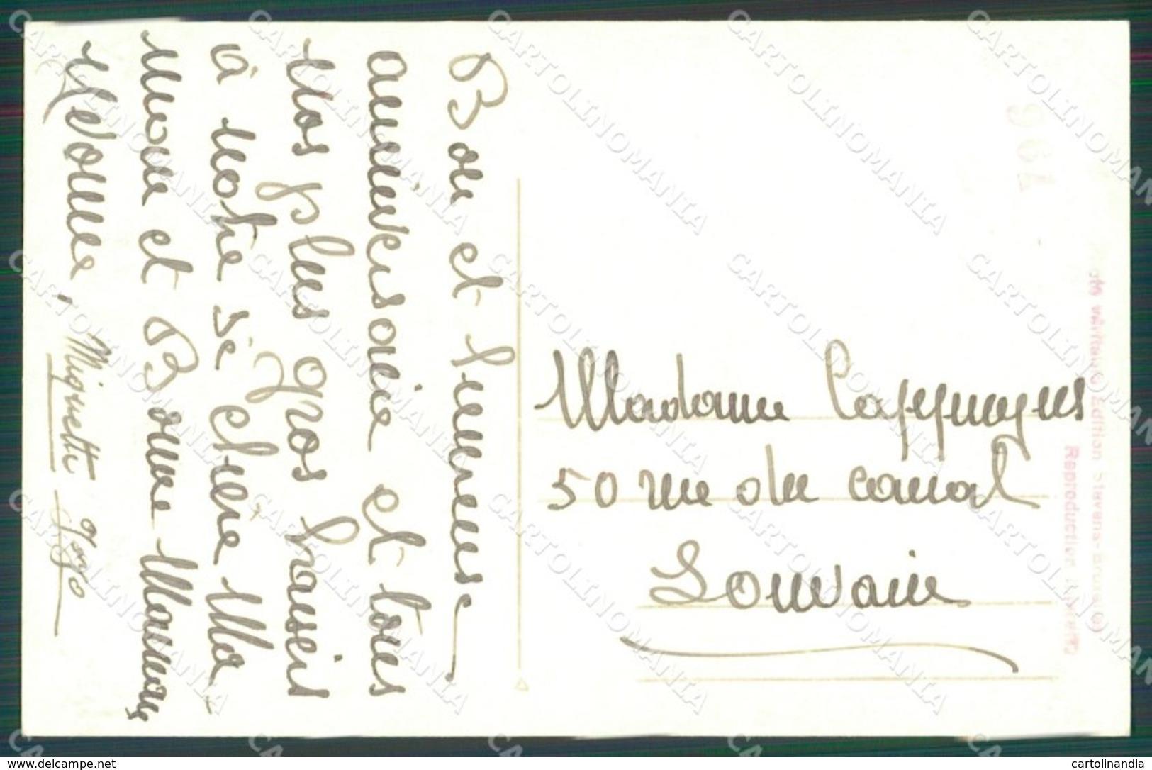 Royalty Belgium Elisabeth Josephine Charlotte Albert II RPPC Postcard KS8545 - Familles Royales