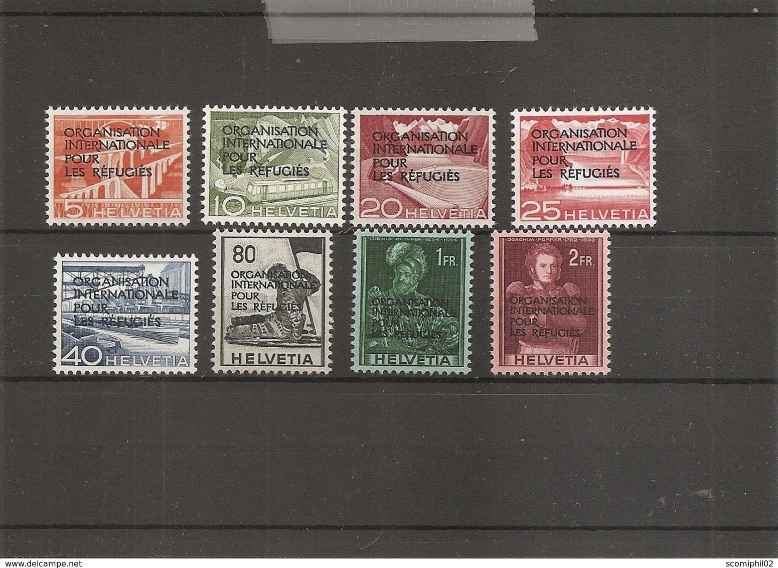 Suisse ( Services 354/361 X -MH) - Dienstzegels