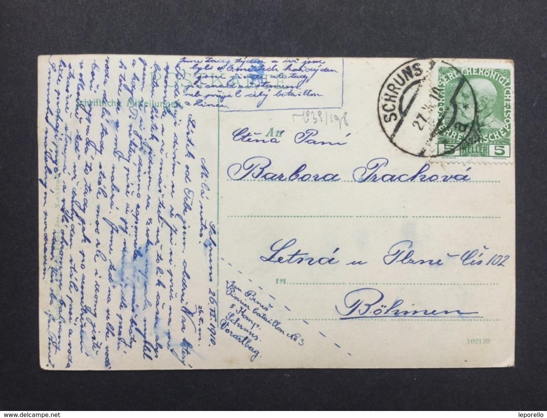 AK SCHRUNS 1910  /// D*40223 - Schruns