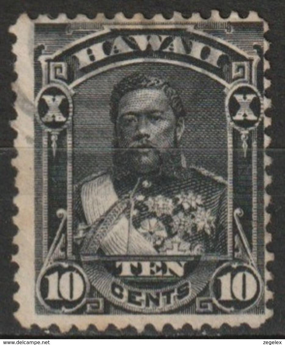 Hawaii 1882 10 Cents Yvert 32  Oblitéré - Hawaï