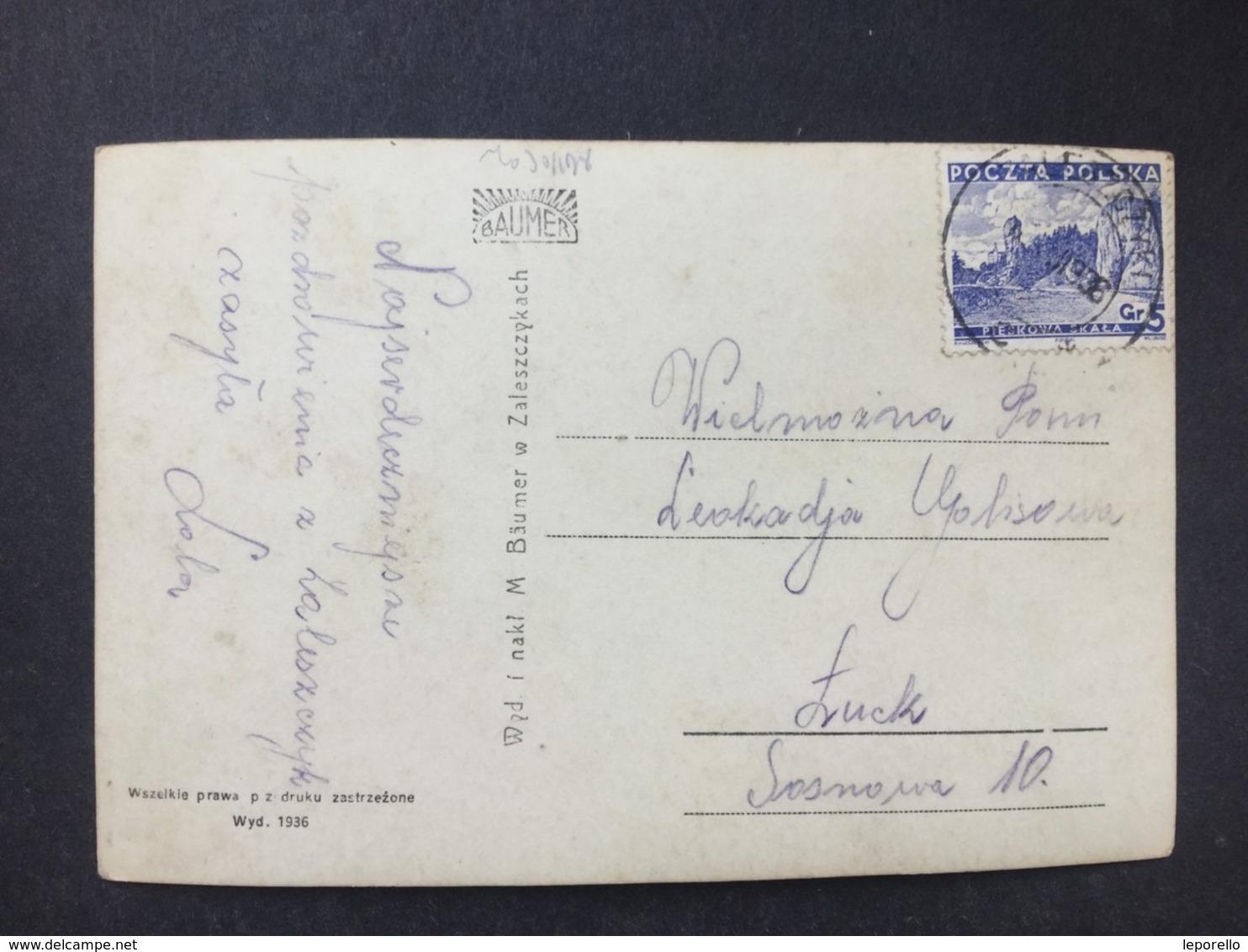 AK ZALESZCZYKI Ca.1930/// D*40256 - Ukraine