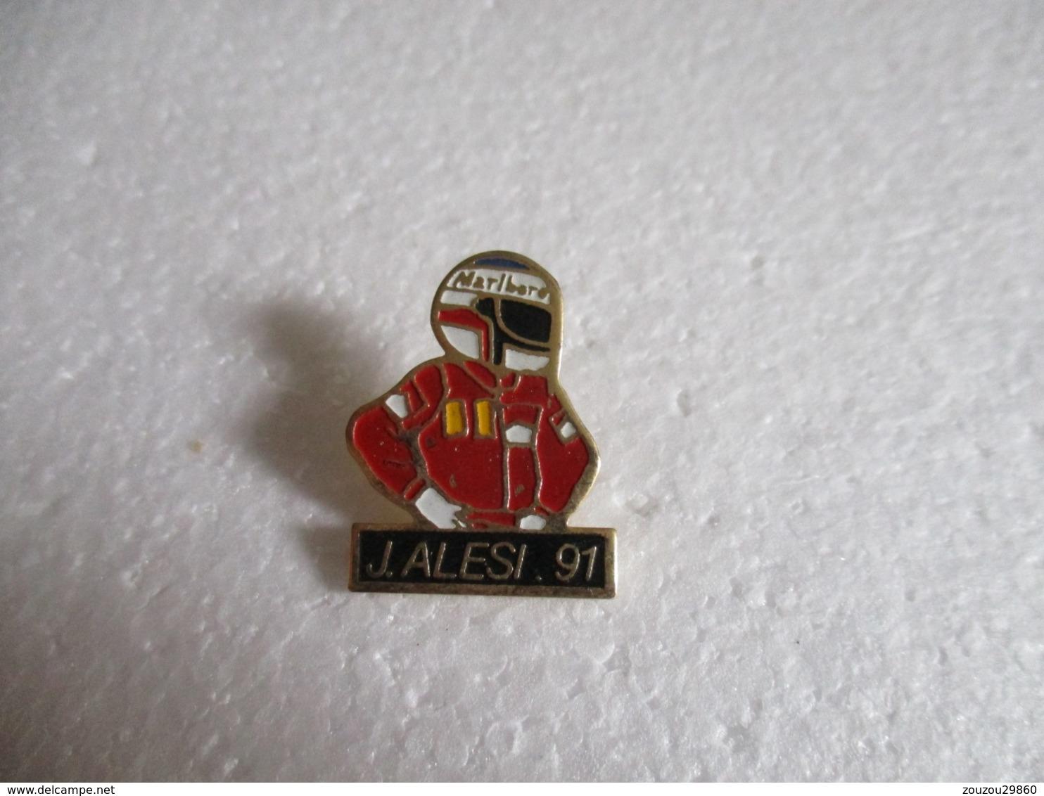 Pin's J.Alesi 91. - Automovilismo - F1