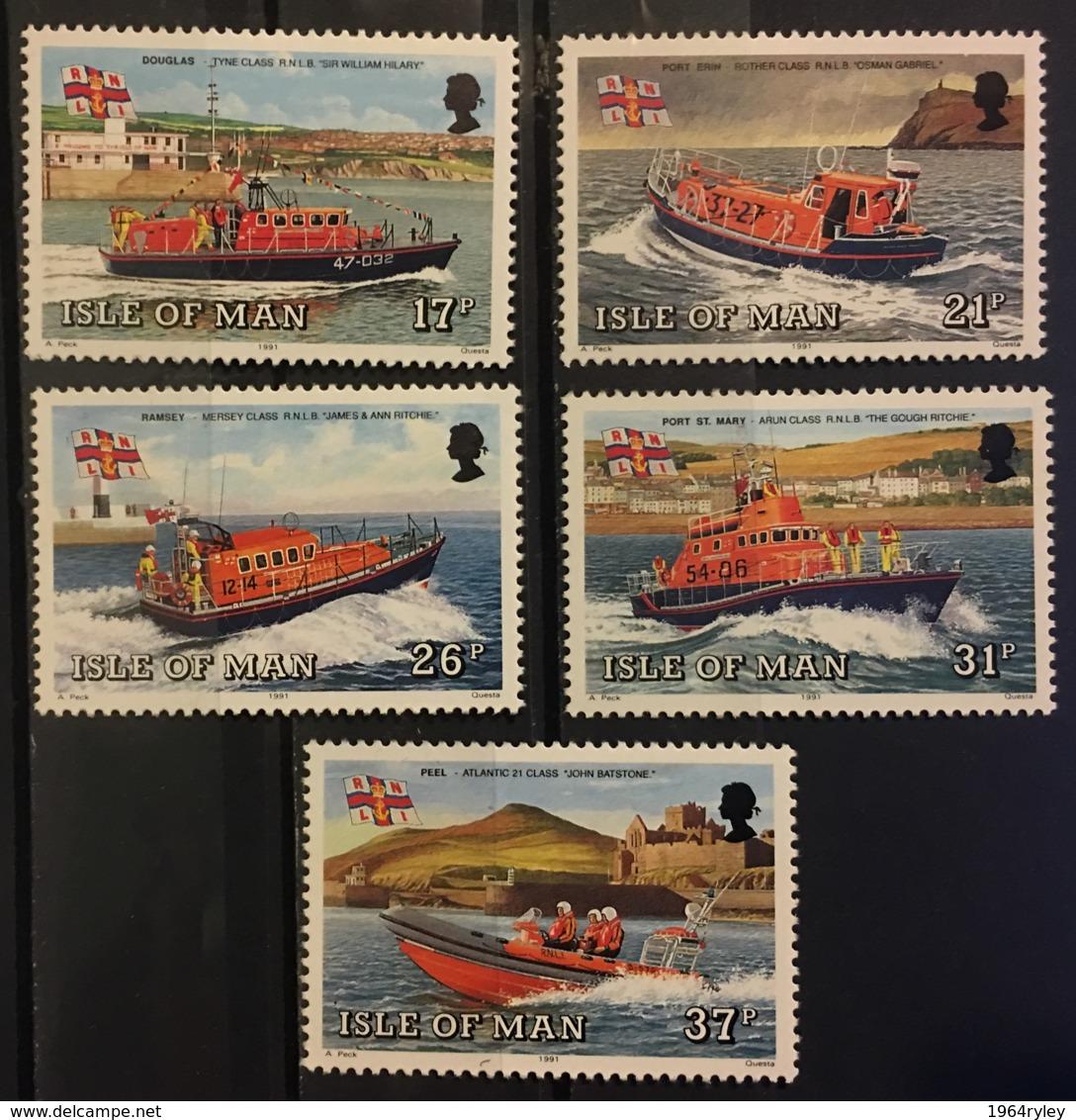 ISLE OF MAN - MNH** - 1991 - # 463/467 - Isle Of Man