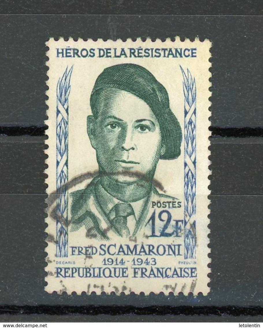 FRANCE - SCAMARONI - N° Yvert 1158 Obli. - France