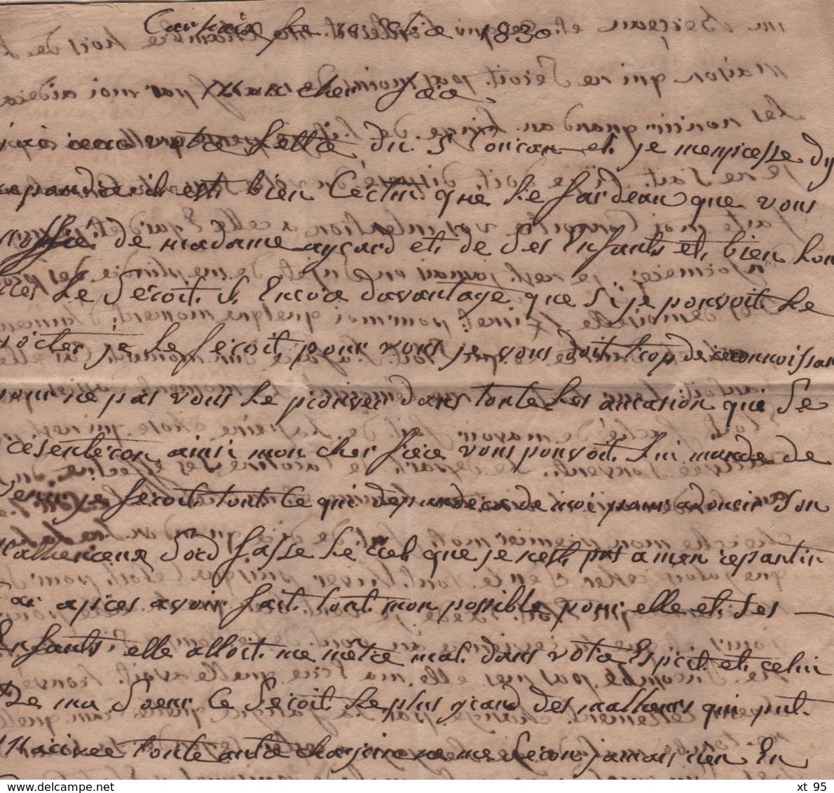 Carhaix - 28 - Finistere - 11 Dec 1830 - Marcophilie (Lettres)