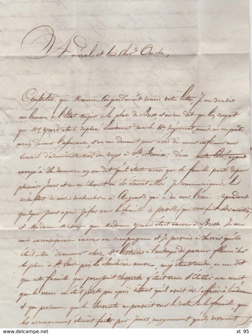 Concarneau - 28 - Finistere - 20 Dec 1830 - Marcophilie (Lettres)