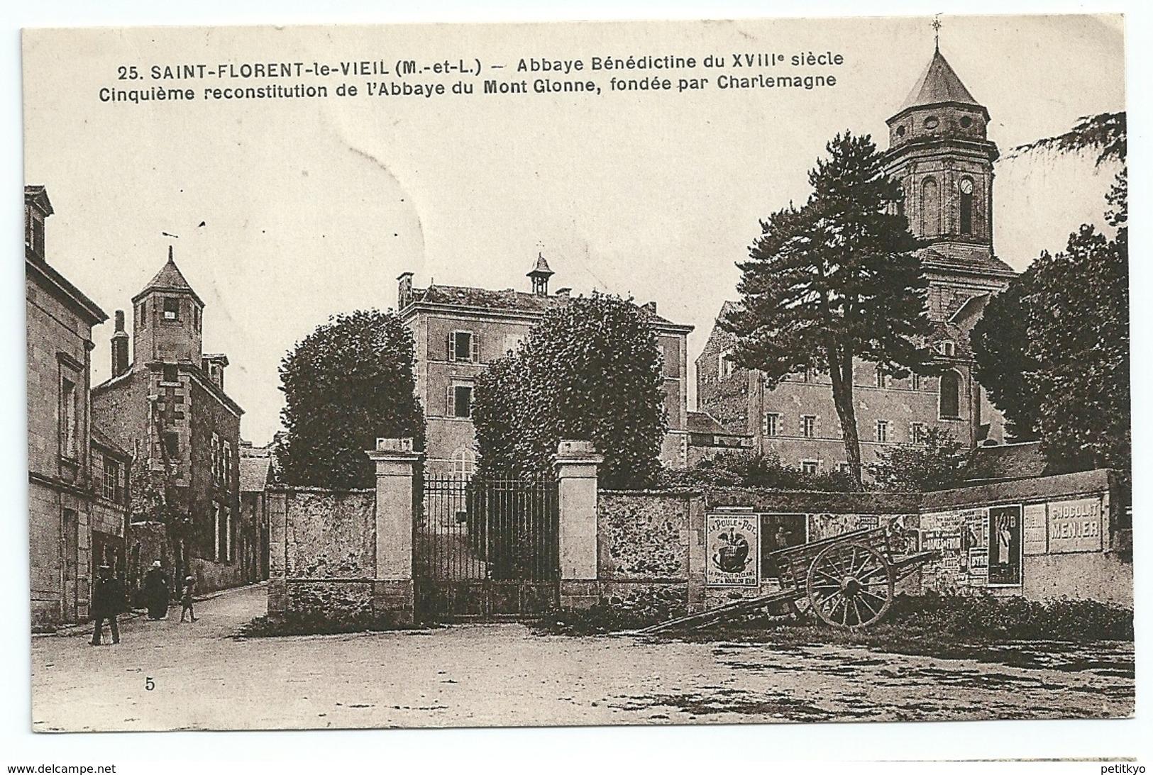 49 - Saint-Florent-le-Vieil - Abbaye Bénédictine Du XVIIIè Siècle - Cinquième Reconstitution De L'abbaye Du Mont Glonne - Autres Communes