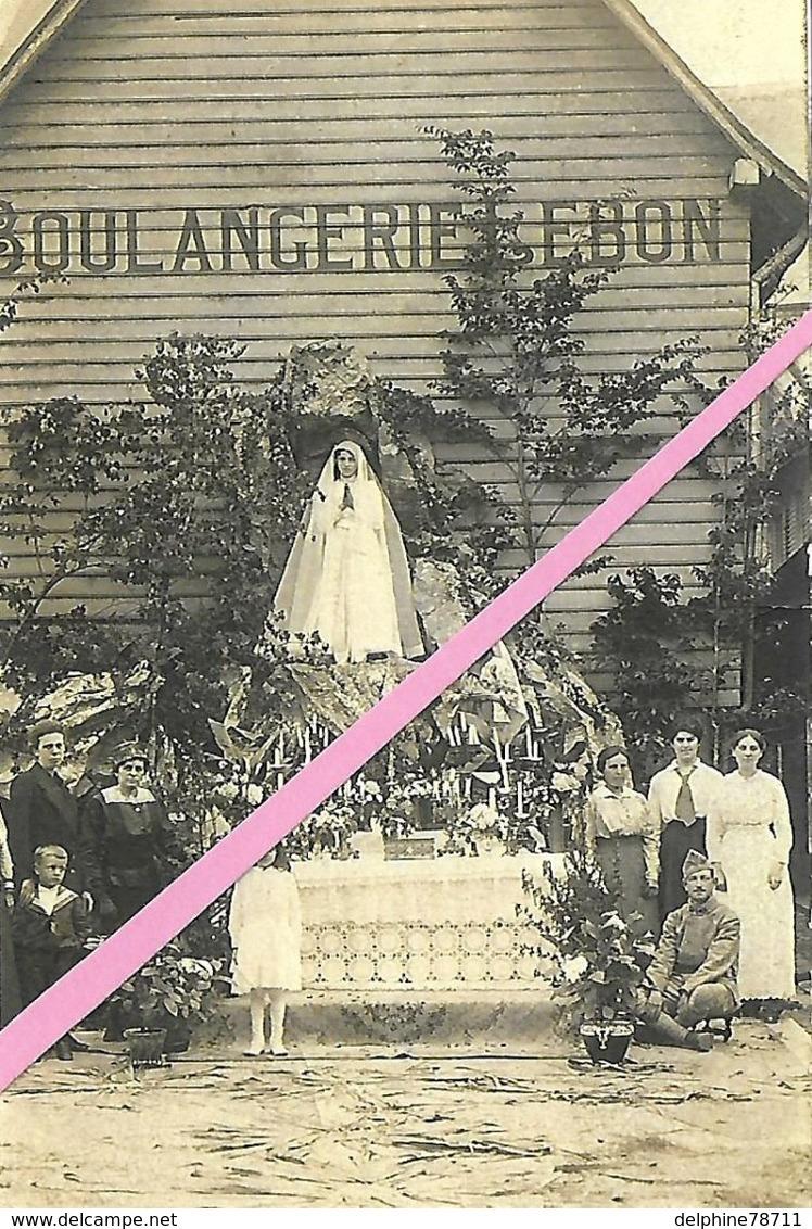 BLANGY Sur BRESLE    Fête-Dieu Devant La Boulangerie LEBON 1931     Reproduction - Blangy-sur-Bresle