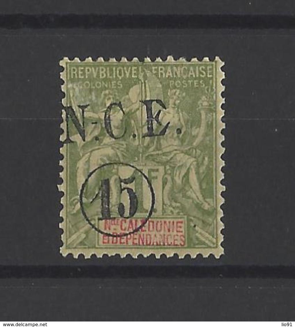 NOUVELLE-CALEDONIE.  YT  N° 58  Neuf *  1900 - Ungebraucht