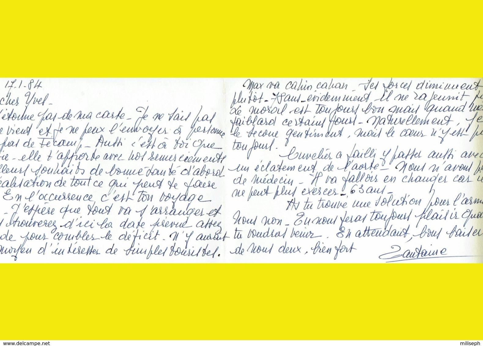 Carte-lettre - Reproduction De FECAMP En 1848 - Entrée Du Port -   (4757) - Fécamp