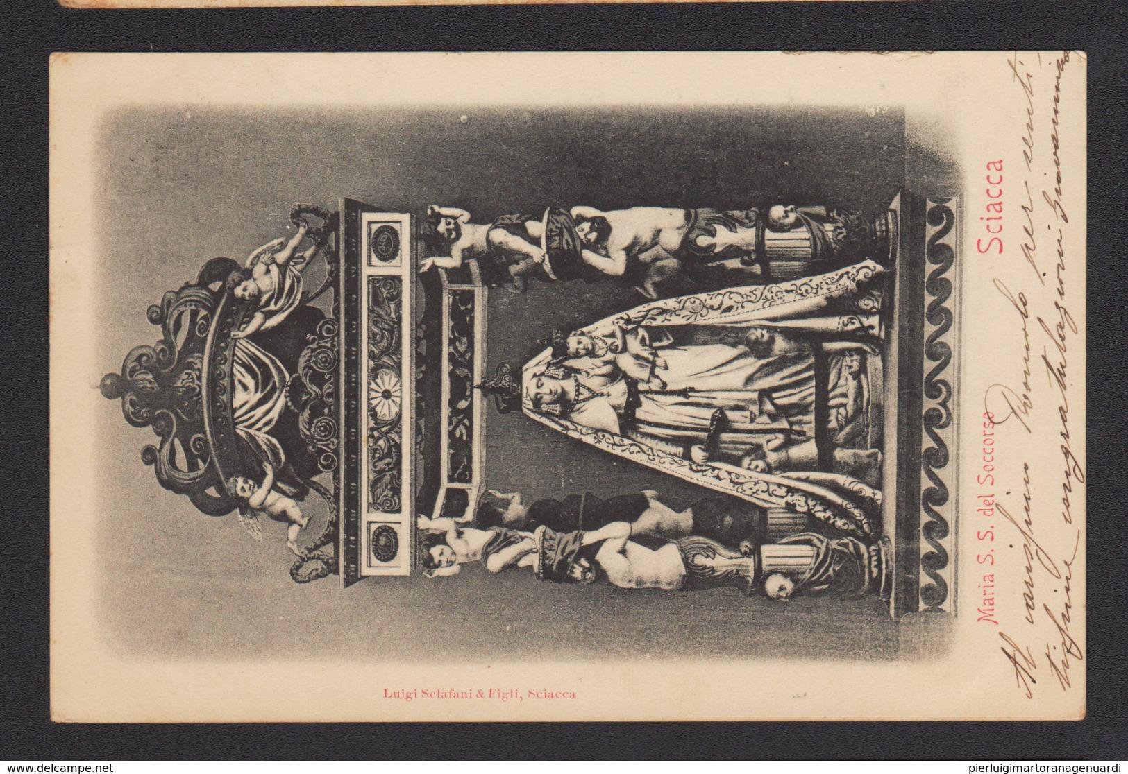 16942 Sciacca - Maria SS Del Soccorso F - Agrigento