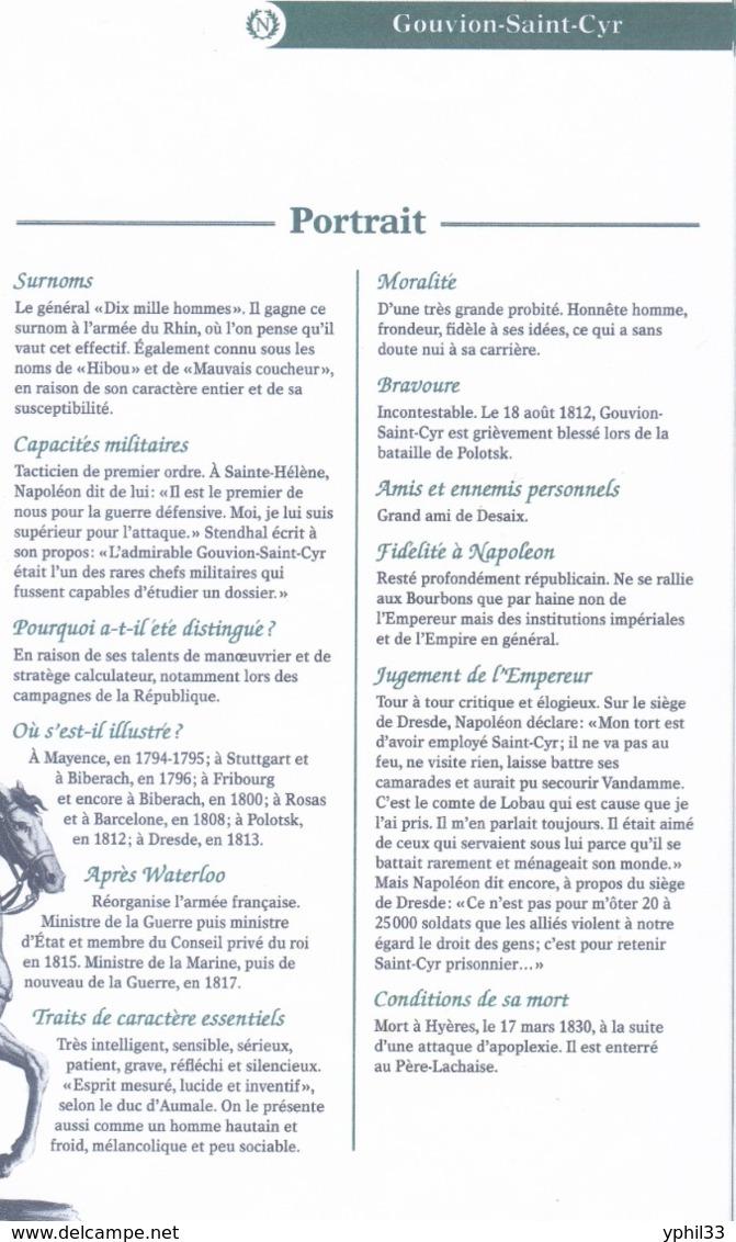 AUTOGRAPHE SUR FRAGMENT: LAURENT GOUVION-SAINT-CYR MARECHAL D'EMPIRE ... MINISTRE DE LA GUERRE DE LOUISXVIII - Autógrafos